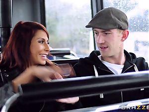 Madison Ivy and Jasmine Jae are screwed on a bus