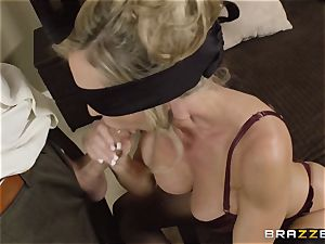 The hubby of Brandi enjoy lets her plumb a different stud