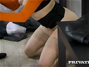 Private.com - Mia Malkova pummels in the cave