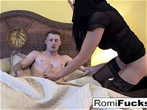 Nurse Romi answers Brick's pleas with ass fucking bang-out
