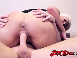 Layla Price Excels During ass fucking Interview