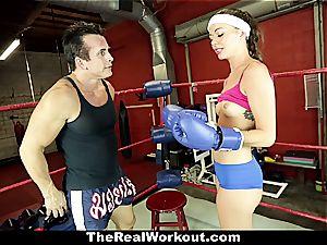 Stella's porno exercise