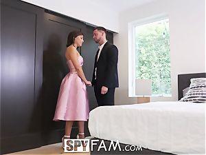 SPYFAM fresh Years Eve fuck with Adriana Chechik