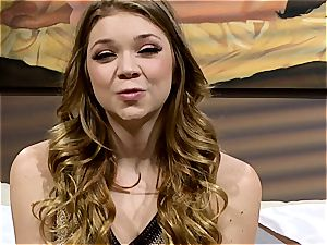 nubile Jessie Andrews is a boho woman in need of a tho' smash
