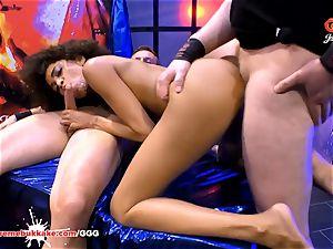magnificent black Latina Luna Corazon moans in elation