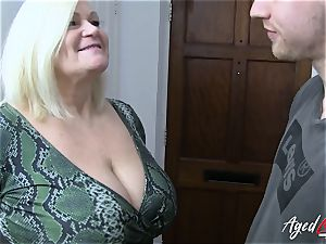 AgedLovE xxx with red-hot Mature Lacey Starr