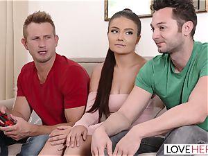 LoveHerFeet - crazy Adria Rae Is A cheating intercourse queen