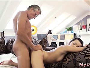 immense funbag brunette milf physician What would you prefer - computer or your girlpal?