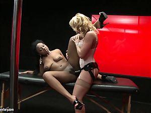 tough Kathia Nobili thrusts her wire on man rod deep down her fucking partner hatch