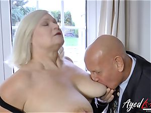 AgedLovE Lacey Starr and Paul gonzo act