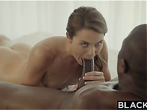 first interracial for insane Ally Tate