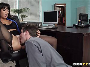 Mercedes Carrera penetrates her daughters-in-law bf at work