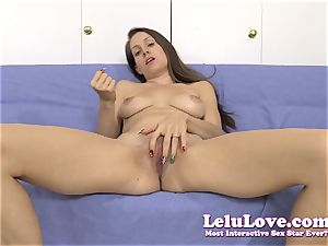 stretching my coochie for you during a jerkoff