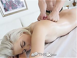 Heavenly Henley Hart boned and left with a creampie