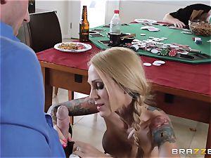 Sarah Jessie boning her spouses poker acquaintance
