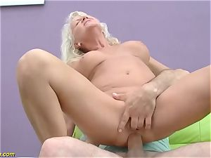 gorgeous 73 years old mom first giant salami ass fucking pulverize
