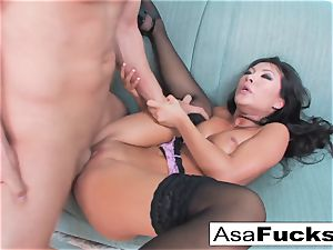 Asa Gets smashed rigid