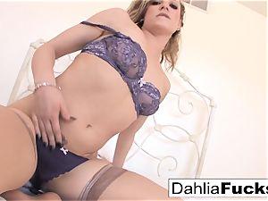 Dahlia gets nailed rock hard