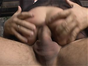 Cayenne Klein and her acquaintance pulverized by Rocco Siffredi