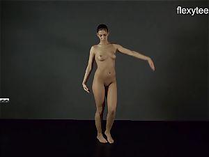 FlexyTeens - Zina displays lithe naked body