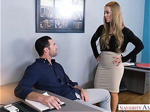 Nicole Aniston fuckin' at work