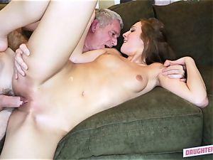 Alexa grace fucks her hottest friends daddy