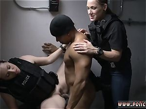 platinum-blonde milf masturbates off We took him back to our bang room and made him our tiny
