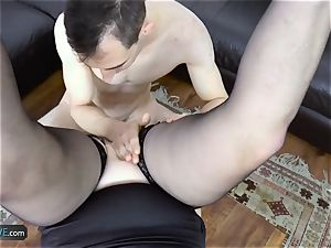 AgedLovE Lacey Starr penetrating Poolboy gonzo