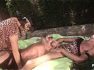 Outdoor fantasy group hook-up
