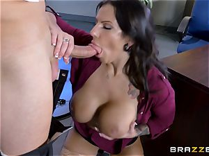 luscious ginormous titted stunner Lylith Lavey getting ravaged