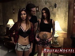 bdsm breeding first-ever time excited youthful tourists Felicity Feline and Jade Jantzen are