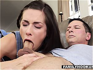 Cassidy Klein Gets horny With molten elderly Uncle