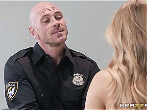 rough oral interrogation with Nicole Aniston