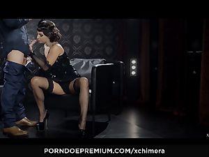 XCHIMERA - Amirah Adara honeypot internal cumshot in fetish shag