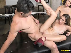 Melissa Moore and Nicole Bexley penetrating sessions