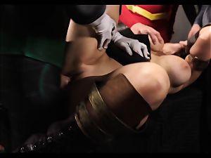 Justice League hardcore part 5 - Hero fuck-a-thon with Romi Rain