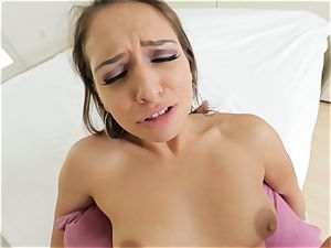 marvelous Sara Luvv giving a warm pov dt and tear up