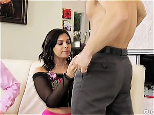 wife gets boned by hubbies' bro in a cheating gig