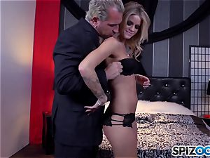 Jessa Rhodes delicious taut pussy is penetrated by a thick meatpipe