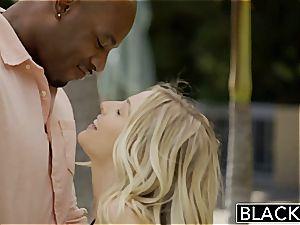 BLACKED very first bi-racial 4 way for fantastic Blondes Karla Kush and Jillian Janson