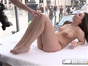 super-hot Carla Crouz has doggy-style Public fuck-a-thon