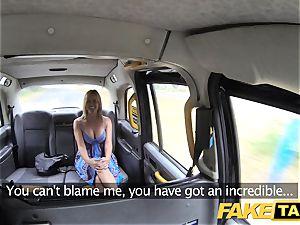 fake cab Mum with innate orbs gets fat british weenie