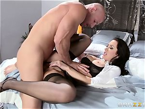 gorgeous wifey Jayden Jaymes screwed by her steamy husband