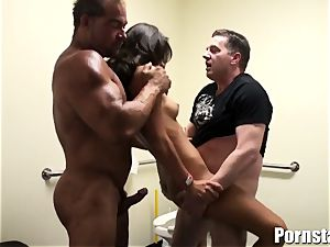 The Skanky Aj Estrada Gets Her crevices torn up harsh