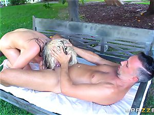 Alena Crofts pummeled by a firm greasy fuck-stick