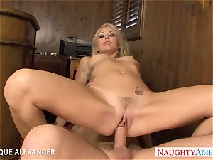bombshell pornographic star Monique Alexander nailing