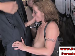 Eva Notty melon and muff boinked after blowing on spear