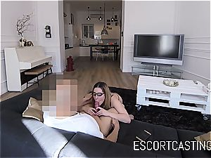 young call girl doll Ally gets jizz in her facehole on hidden camera