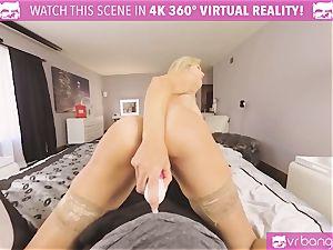 VRBangers.com-MILF is sticking a vibrator in her cunt