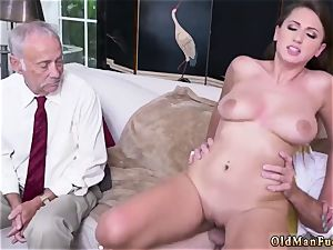 Real amateur wifey rails After getting to know the men nicer, she impresses even more
